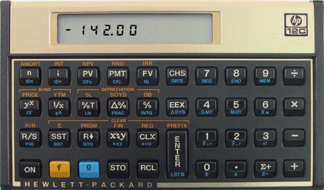 calculadora financeira hp 12c para android